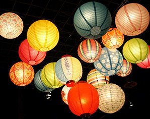 Japanese Lantern Fiesta lights up Mumbai's skies.